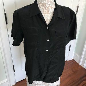Oscar de la Renta silk vintage blouse